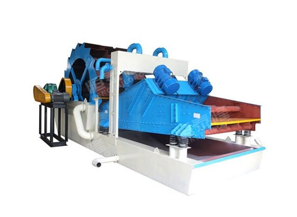 Vibration dewatering screen